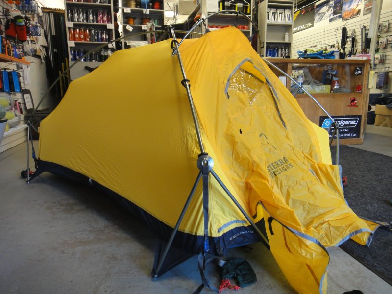 DSC00828. & Winter Mountaineering Tent- Sierra Designs Hercules Assault 4 ...